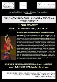 BHARATA NATYAM ROMA: DANZA INDIANA BHARATA NATYAM A ROMA - RASSEGNA