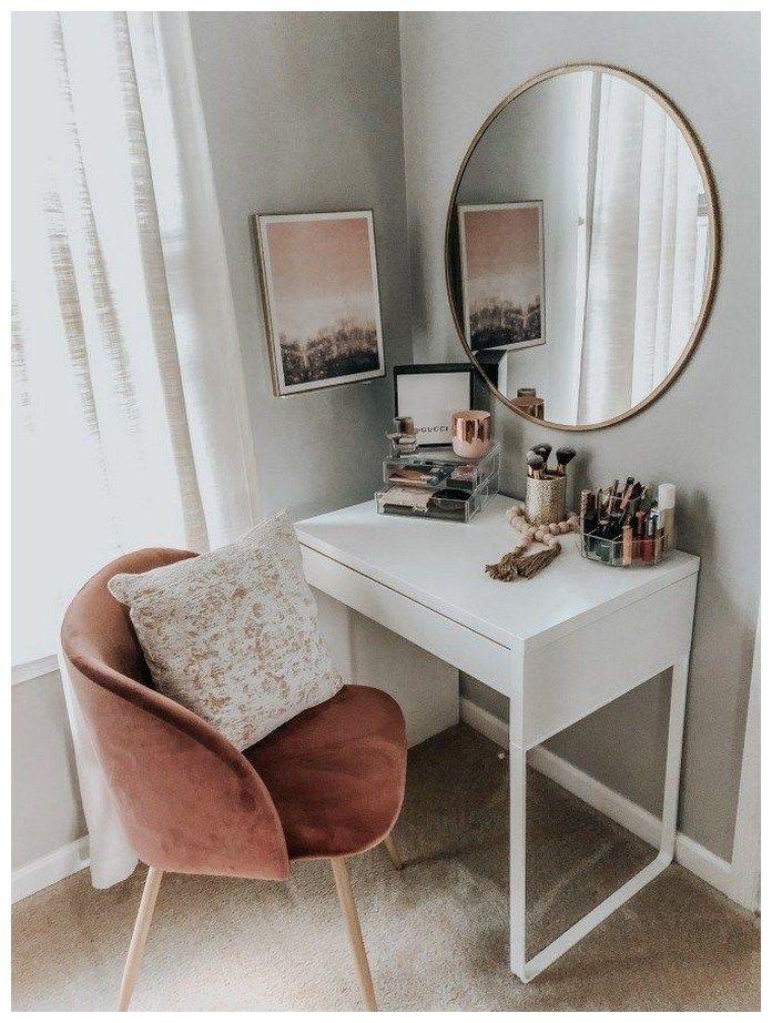 53 best makeup vanities & cases for stylish bedroom 17
