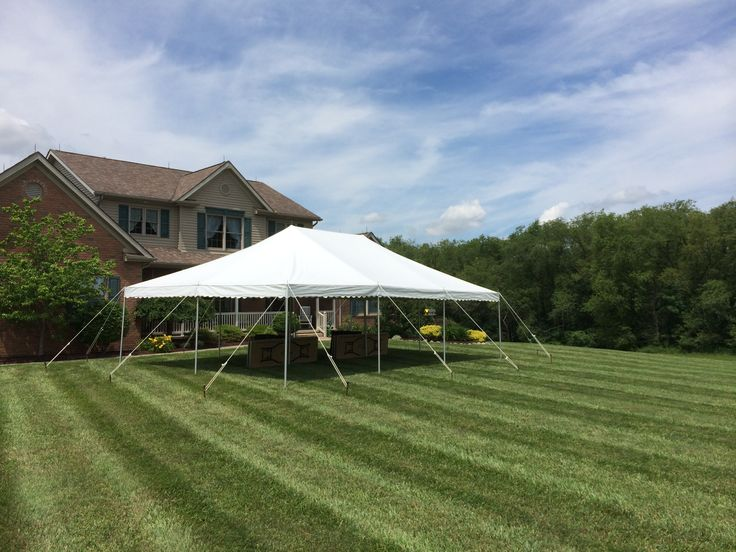 Graduation time calls for tent rentals! Check out Miller's Party Rental for great prices on tents this summer. #millerspartyrental #graduation #graduationtent #tent #tentrental