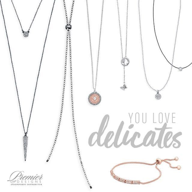 So delicate and beautiful! Totally on trend! www.premierdesigns.com/emilybauer