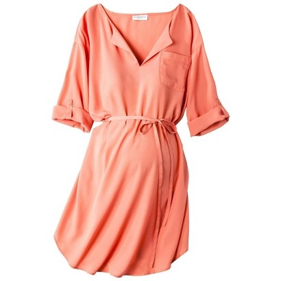 Target : Liz Lange® for Target® Maternity 3/4-Sleeve Tunic Dress - Love this!