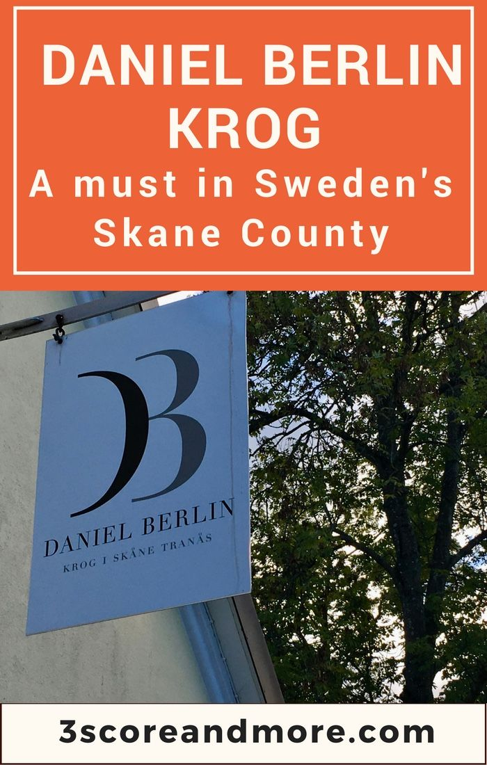 No trip to Sweden is complete without a stop at this Michelin-starred restaurant.