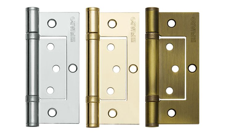 Дверные петли без врезки для межкомнатных дверей