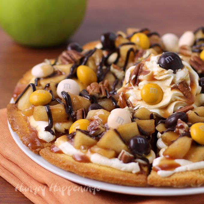 accessories shop online Caramel Apple Cake Chip Nachos Topped with M amp M  s
