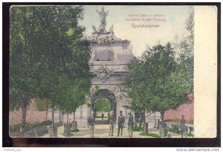 Alba Iulia - poarta - 1900