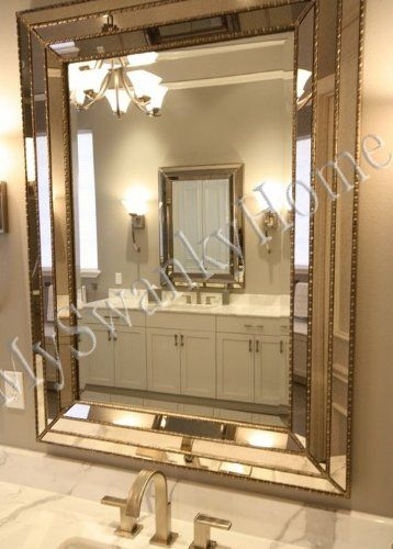 Framed Bathroom Mirrors Brushed Nickel 100+ ideas traditional framed bathroom vanity mirrors on www
