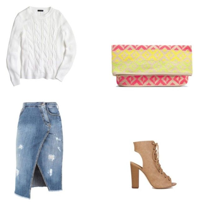"""""""Sin título #15"""" by mariauranga on Polyvore featuring moda, Ermanno Scervino, J.Crew y Sophie Anderson"""