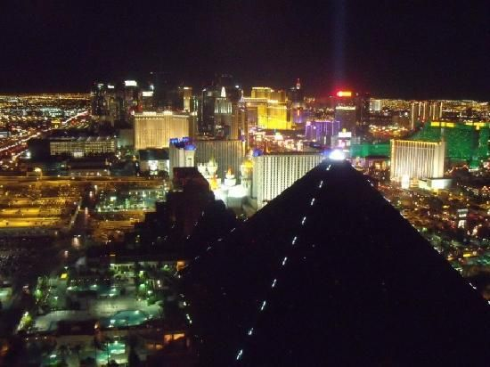View from Mix Lounge. The best view of Vegas at night I think. Don't go up here if you are afraid of heights though- it's over 60 floors up!  Mix Las Vegas - Las Vegas - Attraction Reviews - TripAdvisor #MyTripAdvice