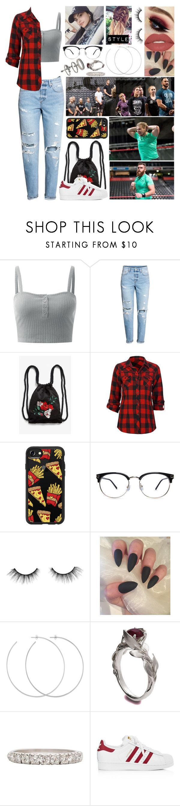 """quote, unquote, coach sousa 🌺 j.t. 🌺"" by lostboyys ❤ liked on Polyvore featuring Monki, Full Tilt, Casetify, tarte, Allison Bryan, Smashbox, adidas and Miss Selfridge"