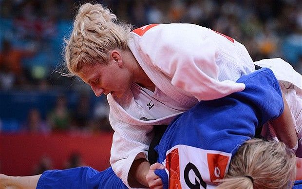 Kayla Harrison - gold medal in judo for the USA!