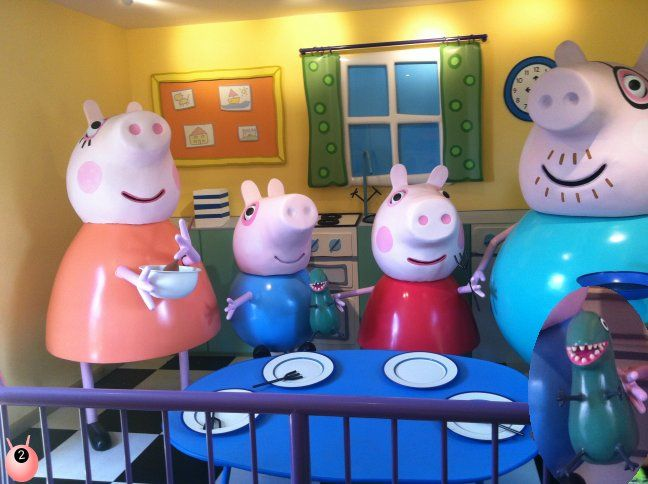 Paultons Park Review - home of Peppa Pig World