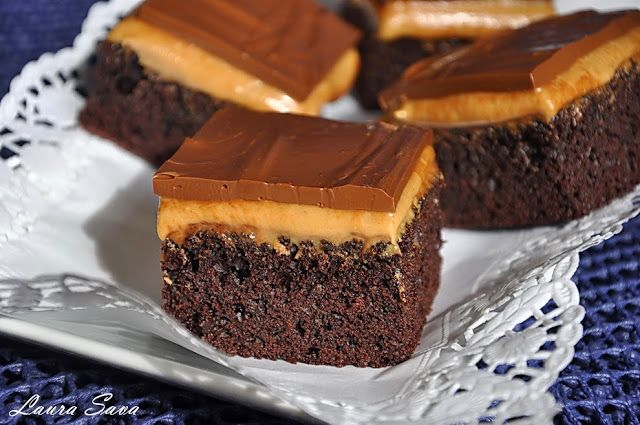 Negresa cu unt de arahide si ciocolata | Retete culinare cu Laura Sava