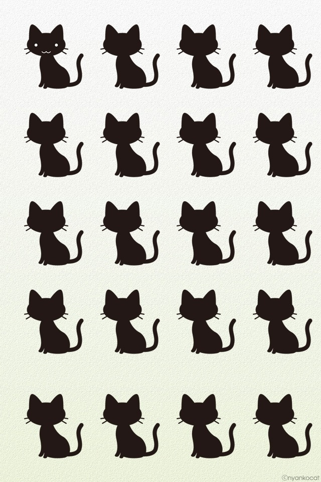 Cats iPhone Wallpaper: Cat Kitty Pattern, Cat Pattern, Cat Wallpapers