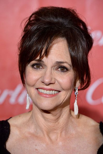 Sally Field's Loose Updo - Haute Hairstyles for Women Over 60 - Photos