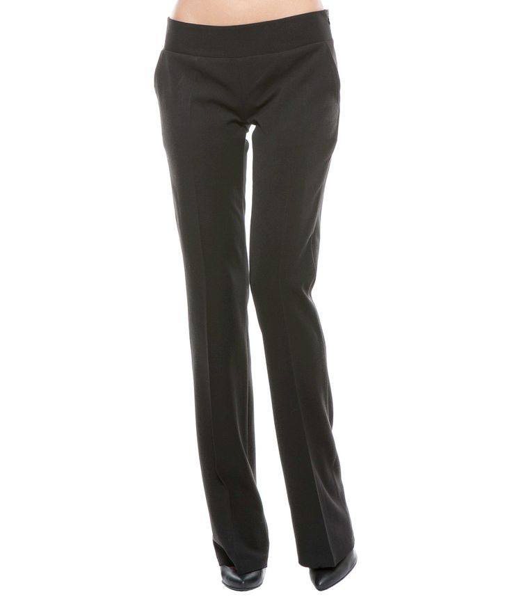 Look at this Lisa Moretti Black Bootcut Pants on #zulily today!
