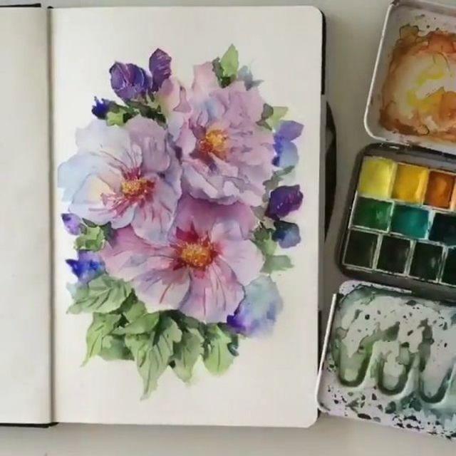 5 560 Likes 46 Comments Best Watercolor Art