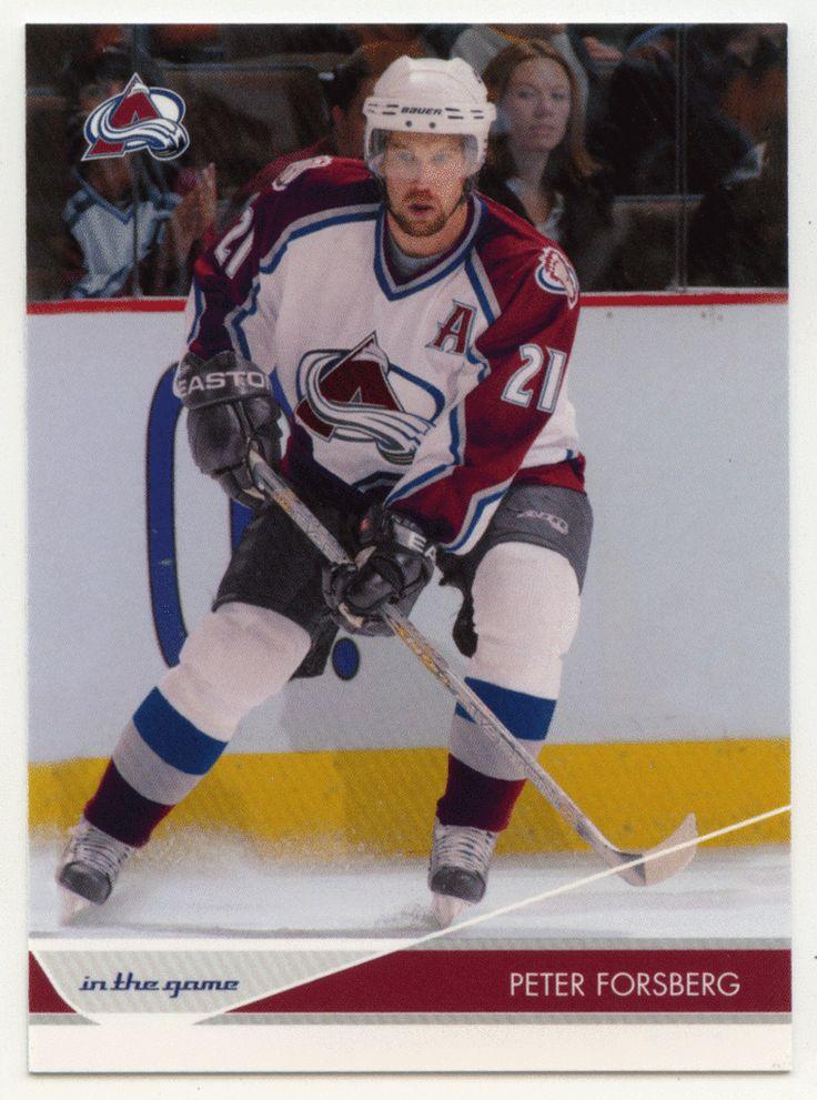 Peter Forsberg # 24 - 2003-04 ITG Toronto Star Hockey