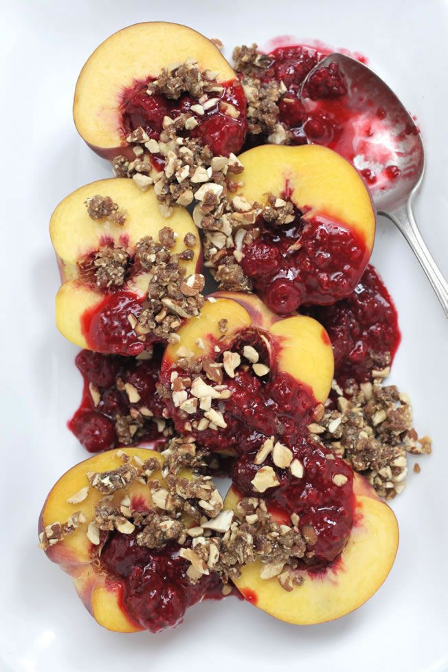 ... gluten free peaches crumble crumble glutenfr glutenfree paleo desserts