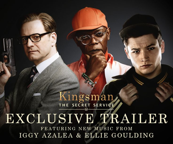 Go step up your spy game! #Kingsman trailer debuts w/new @IGGYAZALEA & @elliegoulding song during @Gotham tonight!