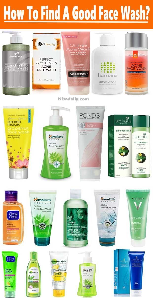 How To Find A Good Face Wash Products Best Face Wash Drugstore Face Wash Neutrogena Face Wash