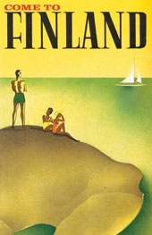 Come to Finland – Vintage travel poster