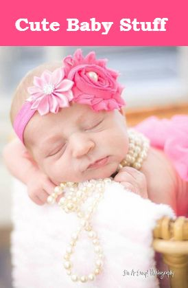 Cute baby stuff for girls. Get your new born child this Amazing Head Bands !!