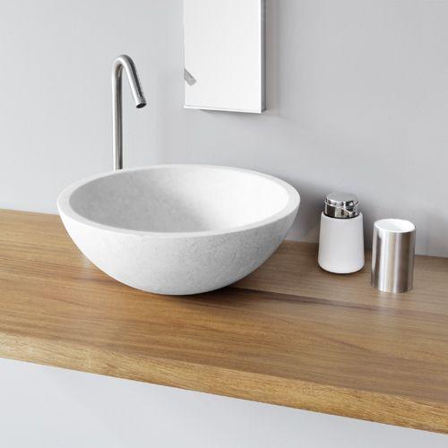 25 beste idee n over houten wastafel op pinterest metro - Houten meubels voor badkamers ...