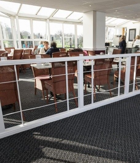 A country Club in Hertfordshire has experienced a surge in wedding bookings and an increased uptake in golf memberships after a stylish new carpet from Heckmondwike was installed as part of a complete renovation.
