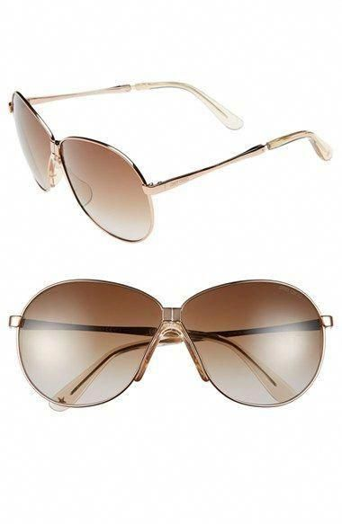 4b682f6239483 Jimmy Choo 64mm Metal Aviator Sunglasses available at  Nordstrom  JimmyChoo