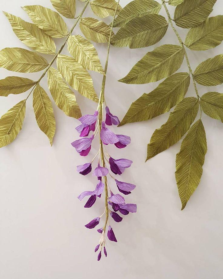 how to make wisteria flower