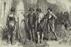 Roanoke y el misterio de la colonia perdida-El primer intento inglés de crear una colonia estable en territorio americano terminó en el más espectacular de los fracasos, dando lugar a un misterio histórico que aún hoy perdura: los 117 colonos, hombres, mujeres y niños, abandonaron el asentamiento para adentrarse en la floresta salvaje, sin que nadie sepa con certeza cuál fue su destino o qué motivó exactamente su partida.