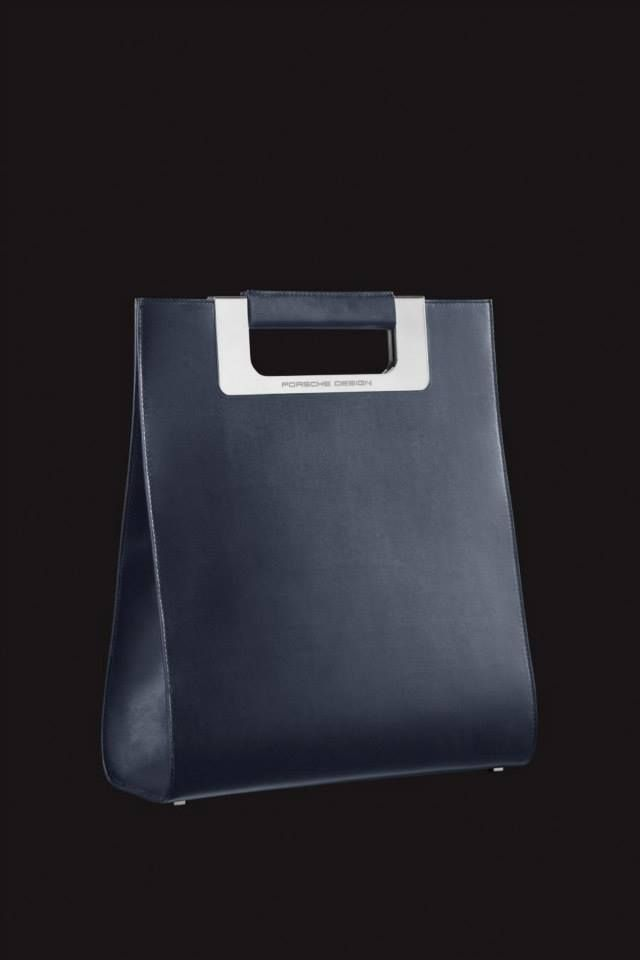The Porsche Design Metric Bag can be descibed as sleek and sophisticated