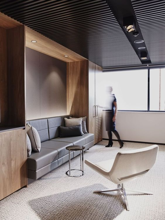 Awesome collaborative work space. #office #design #moderndesign http://www.ironageoffice.com/