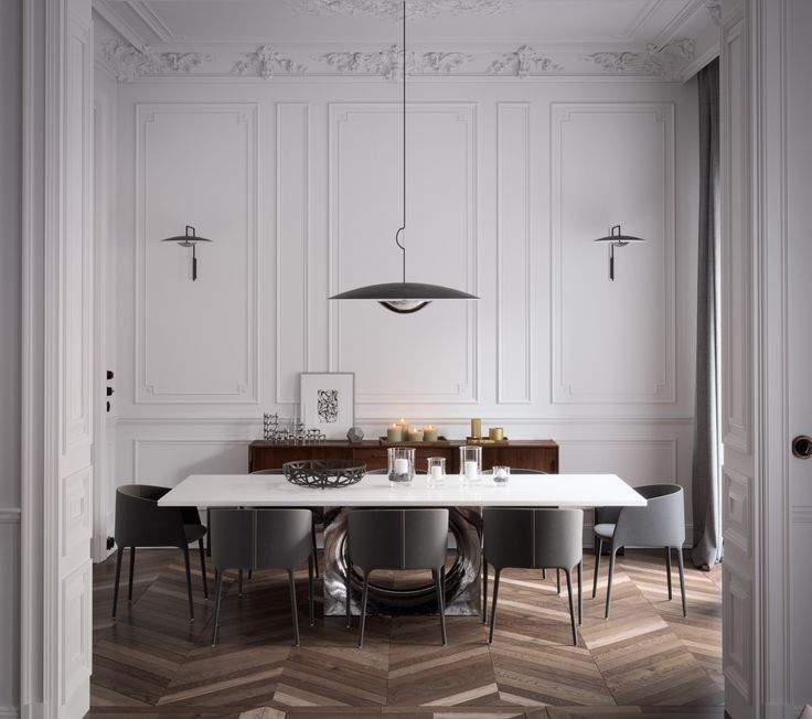 Architect: White Castle, Dawid Przewozny #mdfitalia #diningroom #diningroomideas #table #chair