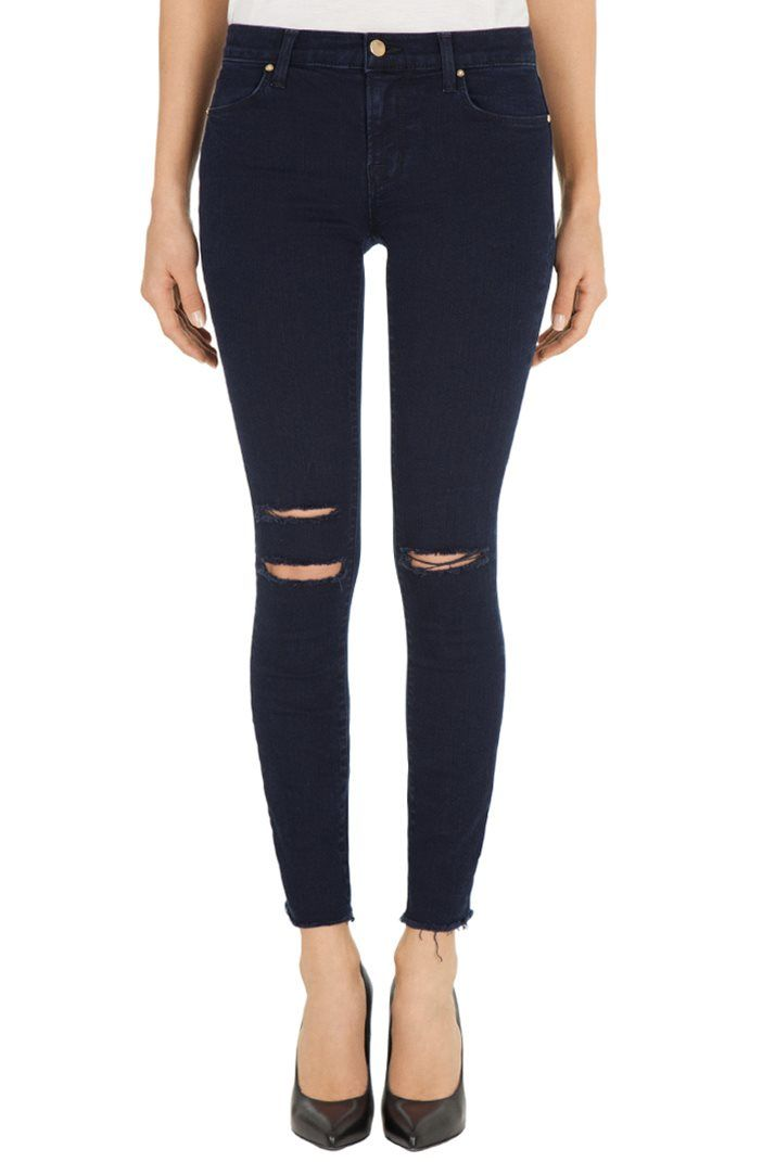Show some leg. Welcome Summer with 25% OFF Shorts and Crops today only like J BRAND's 8227 Photo Ready Ankle Skinny in Blue Mercy. Enter code SRTCRP614 at checkout: http://jbrn.dj/jvGeQe