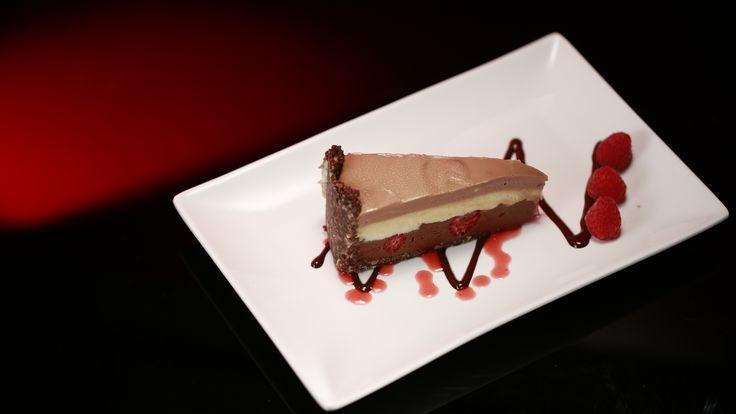 Paul and Blair's Triple Chocolate Cheesecake: http://gustotv.com/recipes/dessert/triple-chocolate-cheesecake/