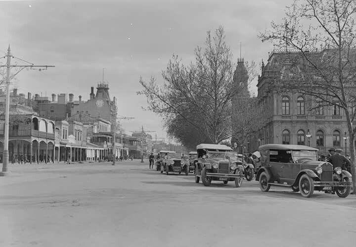 Bendigo in Victoria (year unknown).