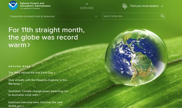 On Earth Day, April 22, 2016  http://www.greenpolicy360.net/w/Climate_News