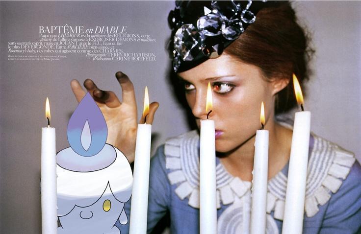 .: Paris December, December 2006, Vogue Paris, Coco Rocha, Vision Boards