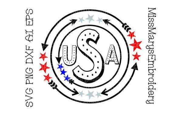 America Svg Patriotic Monogram Svg Star Monogram Svg Etsy In 2020 Patriotic Monogram Monogram Svg Monogram Frame