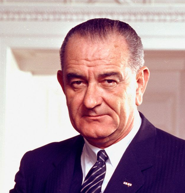 Lyndon B. Johnson, 1963-1969   A Look At U.S. Presidents In Their First Vs. Last Year In Office