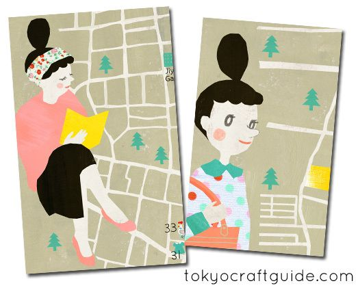 15 best tokyo craft guide images on pinterest tokyo japan trip tokyo craft guide ebook with lovely illustration by hana clulow of ilikesleeping fandeluxe Document