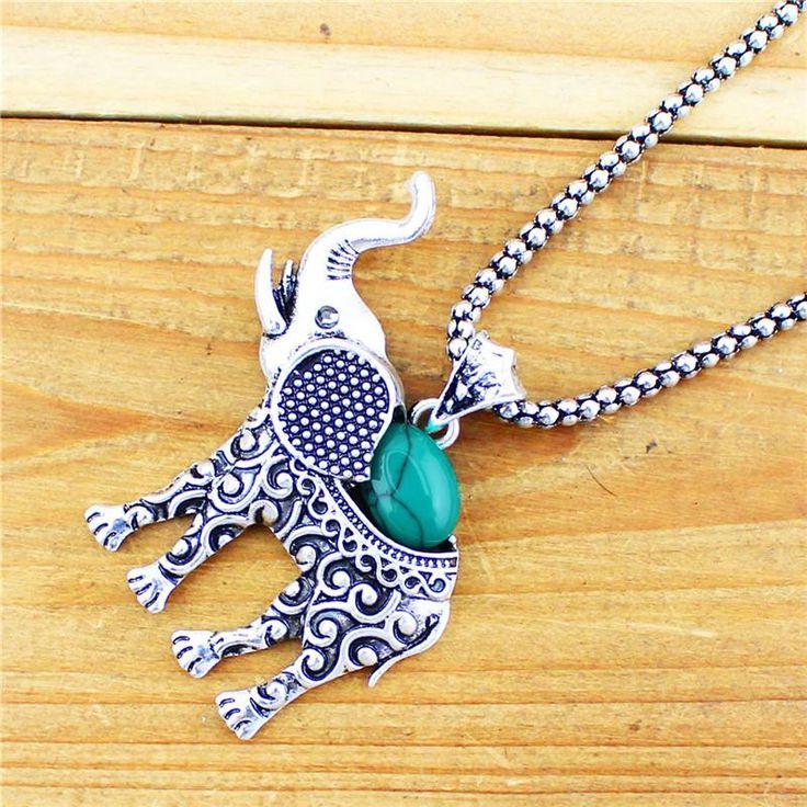 VINTAGE Tibet-Silber beschichtetes Elefanten Schmuck Set für Frauen. Halskette, Armband & Ohrringe    #elefanten #elephants #jewelry #fashion #mode http://style4-nature.de #tierschutz #conservation #earrings #necklace #halskette #ohrringe #schmuck