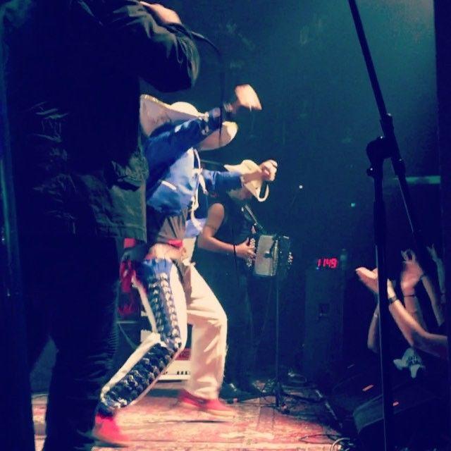 Hydra Melody & Carlton Zeus performed on Saturday at Sam's Burger Joint