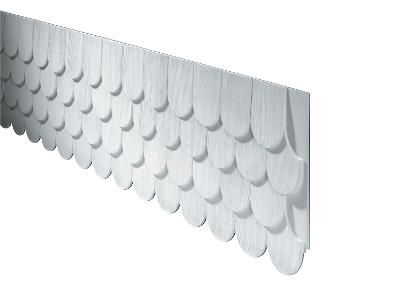 Best Fypon Polyurethane Fishscale Panel Wood Shingles Gable 400 x 300