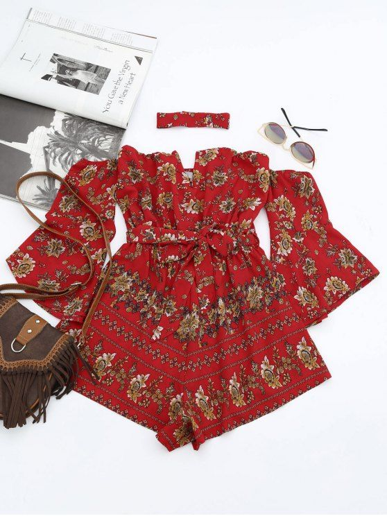 Back to school, back to saving! Free shipping worldwide! Floral Belted Choker Romper. Zaful,zaful.com,bottoms,jumpsuits,rompers,playsuit,romper,jumpsuit,playsuits,jumpsuits and rompers,jumpsuits for women,jumpsuits casual,jumpsuits outfits,jumpsuits for teens,rompers women,rompers for teens,rompers women outfit,rompers outfit,rompers for teens summer,rompers summer,playsuits,playsuit outfit,playsuit pattern. @zaful Extra 10% OFF Code:ZF2017