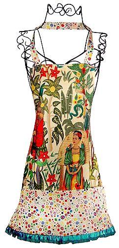 Frida Kahlo Light Apron
