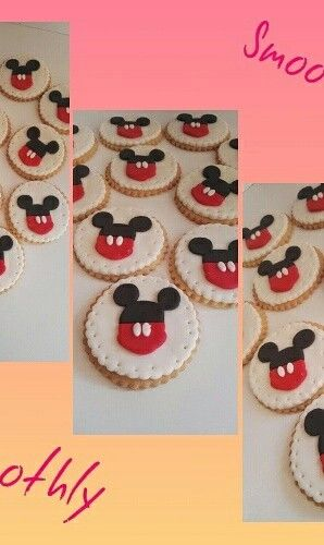 Mikey mouse cookies by Smoothly