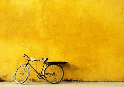 the beauty of the bicycle - imagine if there were more bicycles on the road than cars.