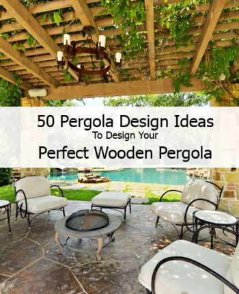 50 pergola design ideas to design your perfect wooden pergola ogr d pinterest wooden - Wooden balcony design ideas perfect harmony ...
